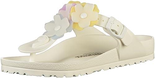 1a799a88f501 Birkenstock Womens Gizeh EVA Thong Sandals Regular White Size EU 38 - UK L5