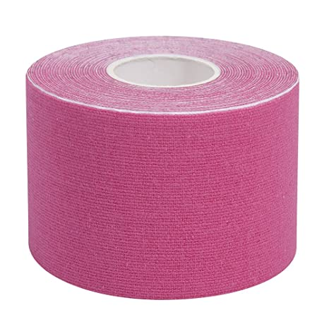elastrap Rouleau bande bandage couleur de strapping kinesiologie  kinesiologique K-tape taping (Rose)  Amazon.fr  Sports et Loisirs 9a4f969f8d3