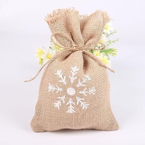 Bolsa de yute para dulces, bolsa de regalo de boda, fiesta ...