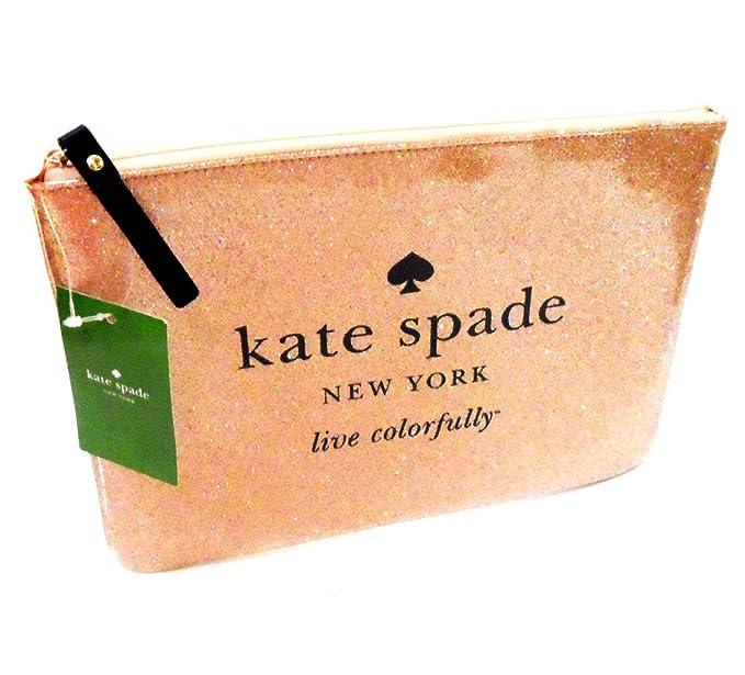 Dorado Kate Spade bolso de mano de Monedero memory mates ...