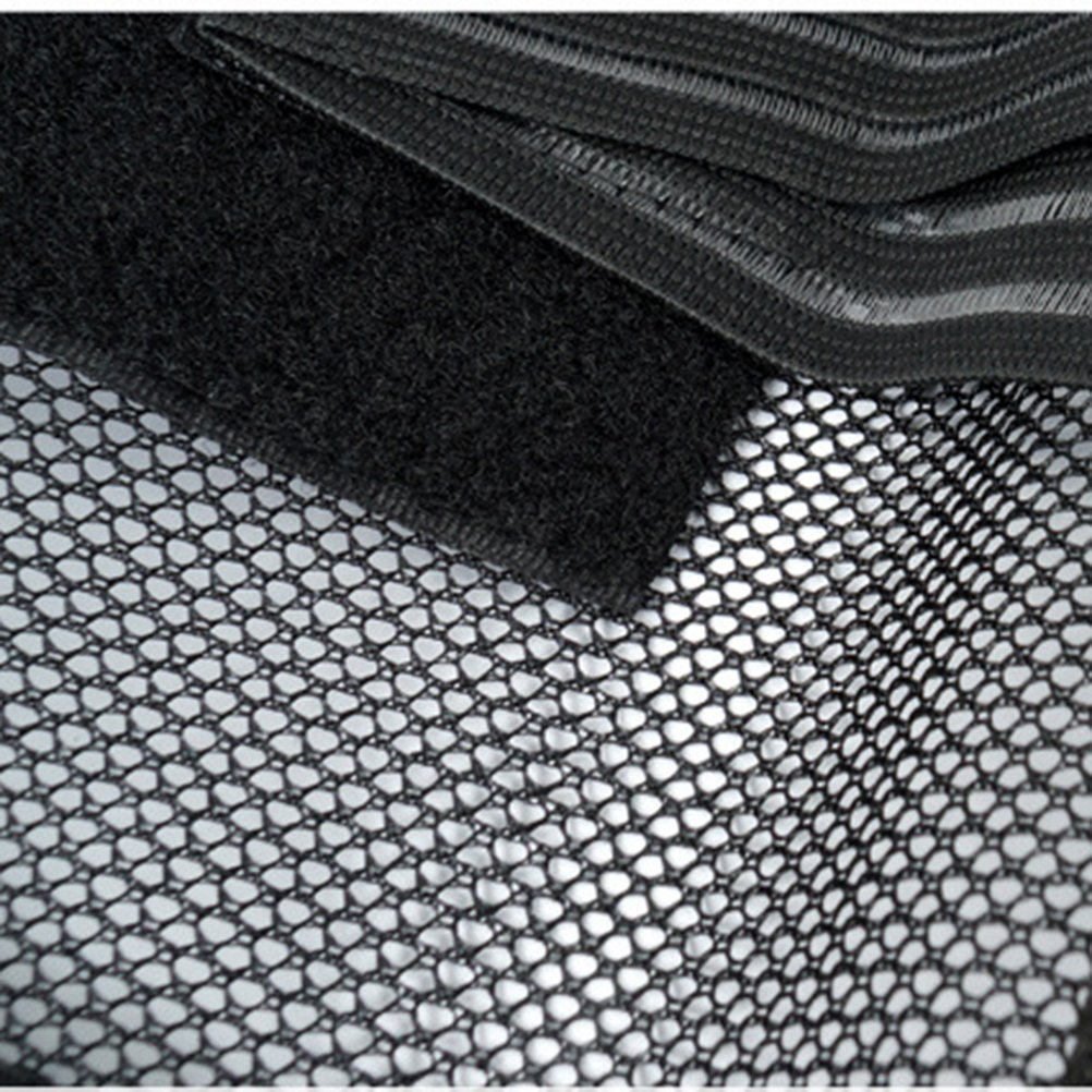 Cinturon Lumbar ROSENICE Faja Reductora Adelgazante Faja de Cintura Abdomen Ajustable para Mujer Hombre Negro Talla L