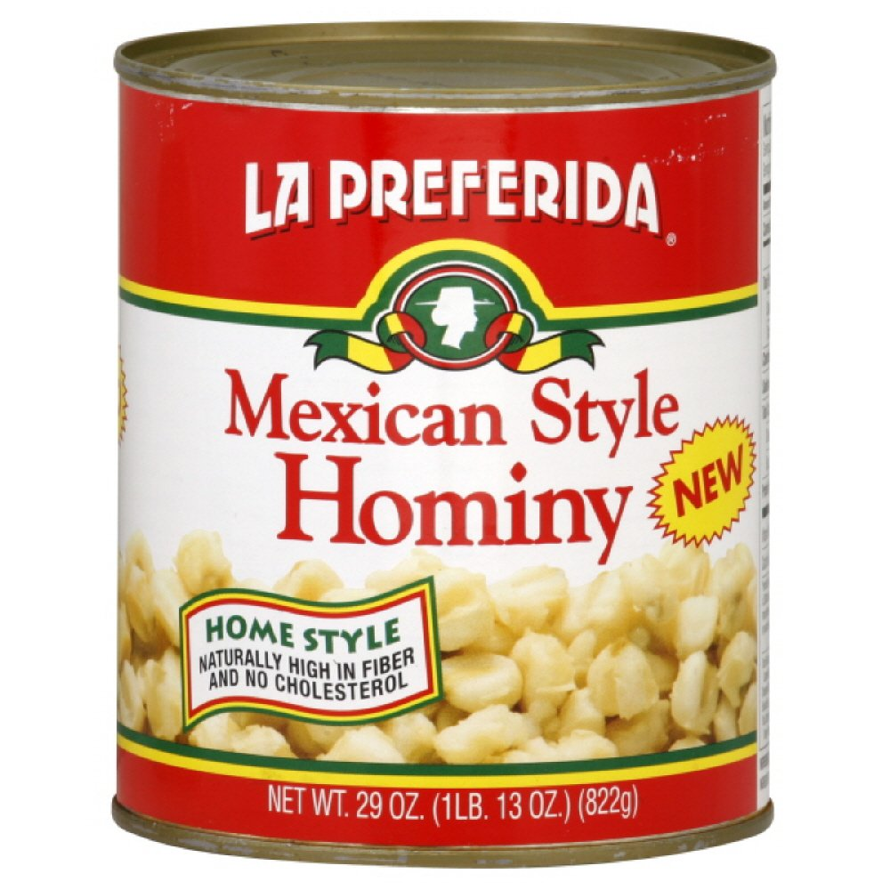 La Preferida Hominy Mexican Style, 29-Ounce (Pack of 12)