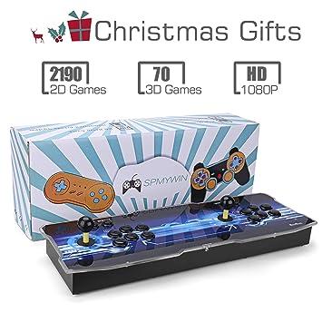 Amazon.es: Spmywin 3D Pandora Box 2260 Juegos Retro Consola Portatil 1080P HD Maquina Arcade Retro Consolas Videojuegos CPU Avanzada Soporte Expandir Juegos ...