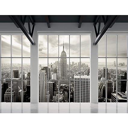 Tapisserie Photo New York 308 X 220 Cm Laine Papier Peint Salon Chambre Bureau Couloir Décoration Peinture Murale Décor Mural Moderne 100 Fabriqué