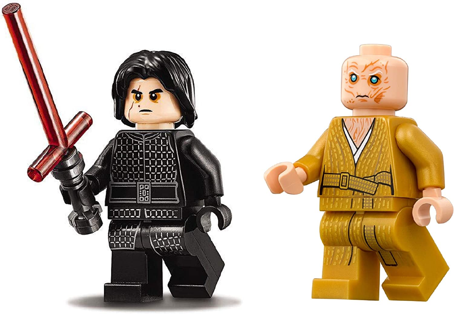 LEGO Accessories: Star Wars Dark Side Lot #4: Supreme Leader Snoke and Kylo Ren