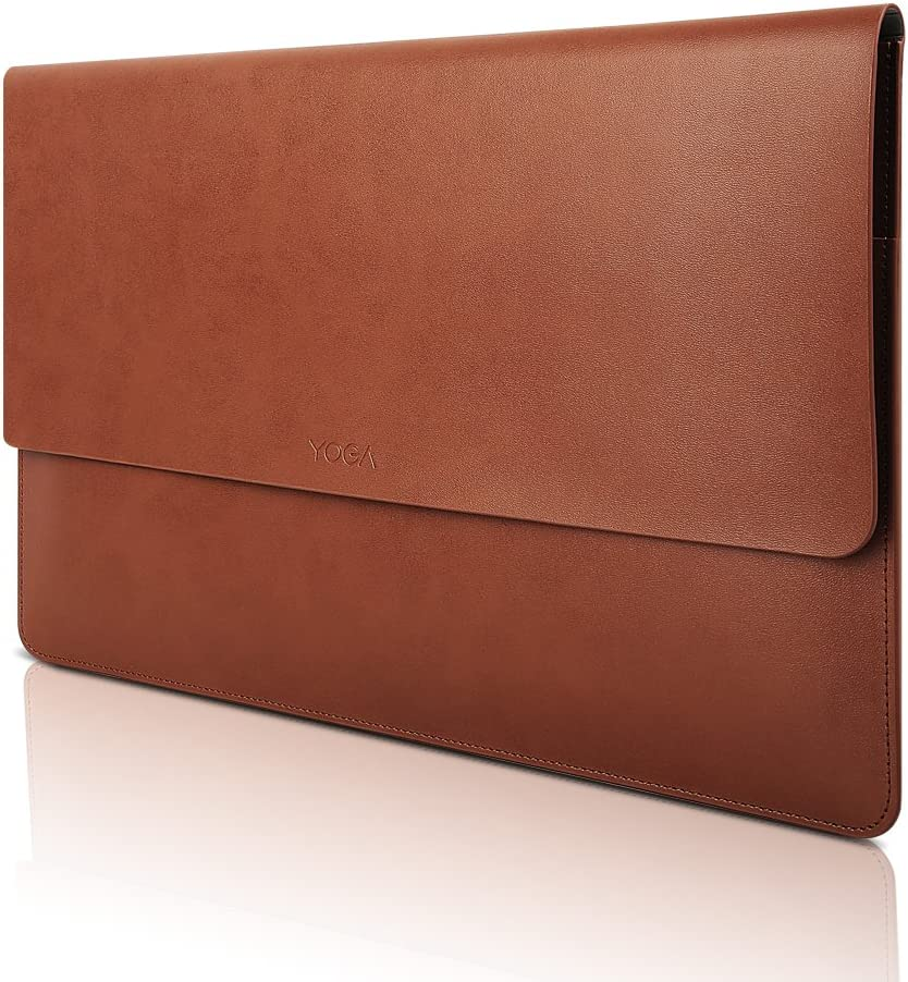 Lenovo 13 Inch Laptop Leather Sleeve, for Lenovo Yoga 730-13, Yoga 720-13, GX40N36500