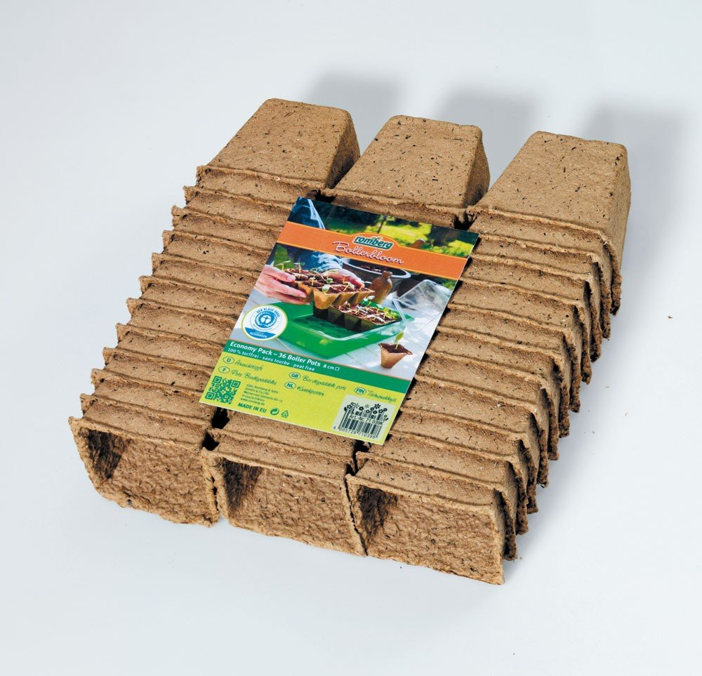 Germination Pots 8cm² (Pack of 36) Romberg