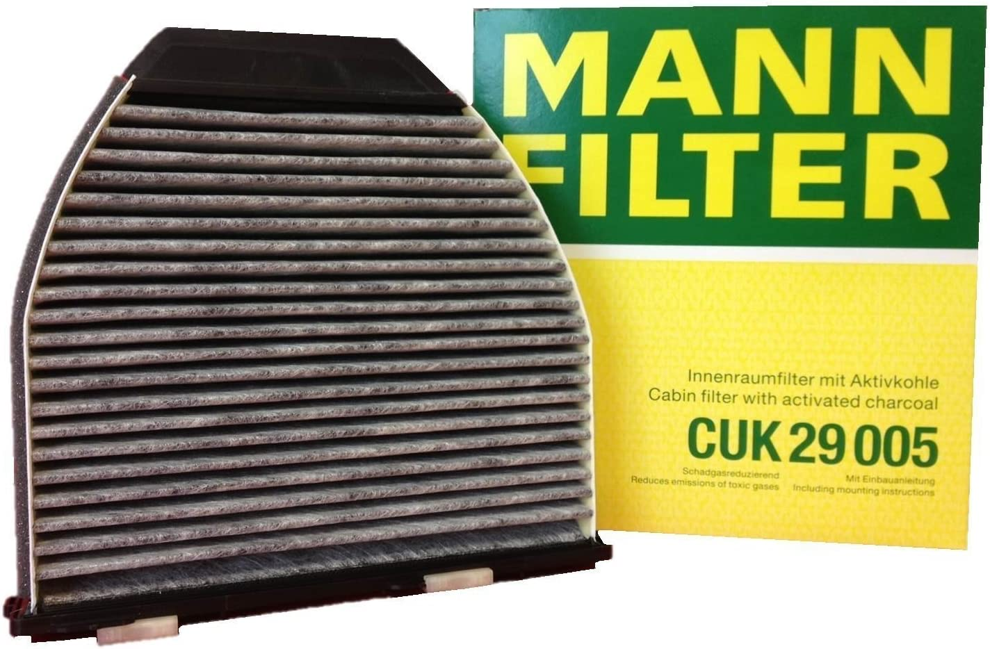 Mann Activated Carbon Cabin Pollen Filter Service Mercedes E-Class C-Class