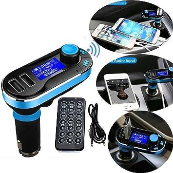 SD Carte Micro SD Clé USB BL Transmetteur FM Audio MP3 pour Voiture