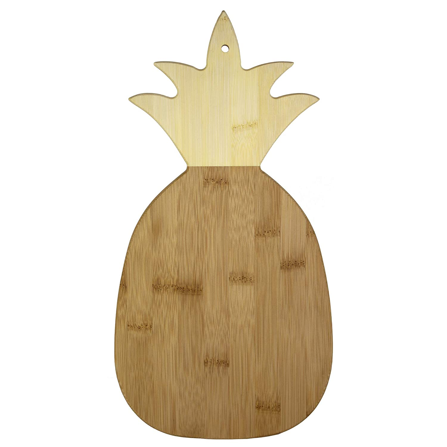 Totally Bamboo 20-7640 pineapple cutting board, One Size,