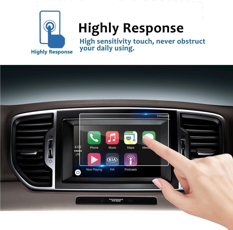 "2 X Car navigator screen Protector for Honda 2016 2017 Civic 7/"" Touch Display"