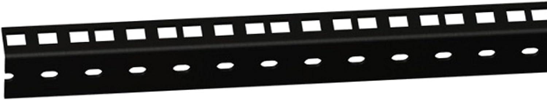 Color Negro Agujeros Perforados, 8 HE 61535B8 Ra/íl para Rack