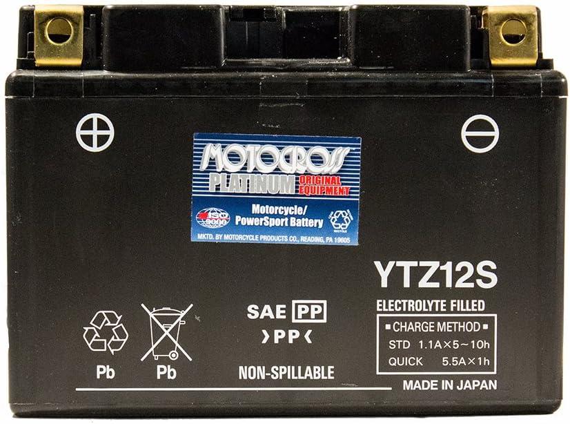 BATTERIA YUASA YTZ12S 12V 11Ah =TTZ12S HONDA FJS Silver Wing 400 2006 2007