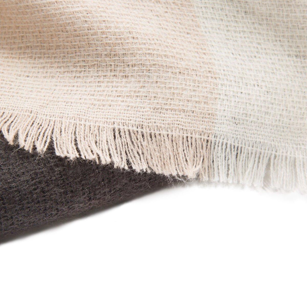 Womens Big Square Scarf Multi-Color Plaid Blanket Shawl Long Tartan Shawl (Light pink)