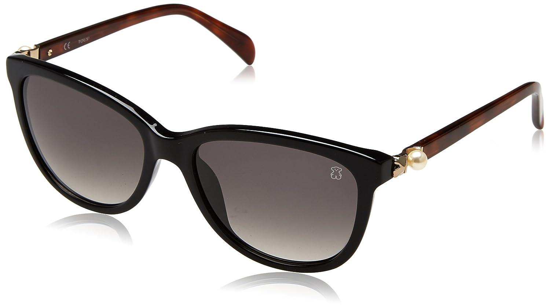 TOUS STO885T-550700, Montures de Lunettes Femme, (Shiny Black), 55