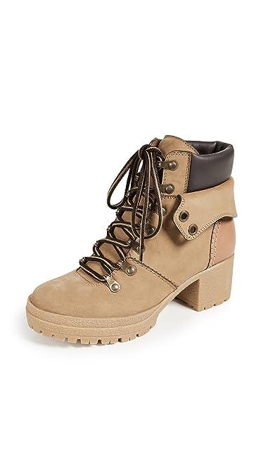 aaa0eef0a6a Amazon.com   See by Chloe Women's Eileen Mid Heel Booties   Ankle ...
