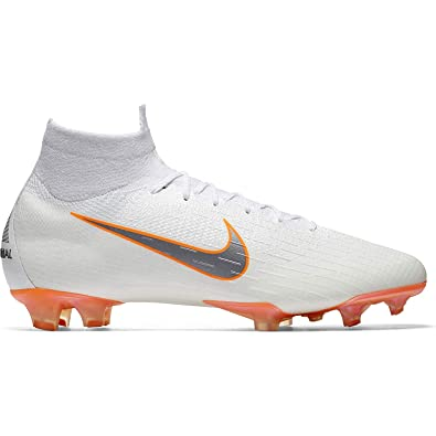 best website cc422 6783e Nike Men's Superfly 6 Elite FG Firm-Ground Football Boot (9.5 M US) White