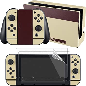 eXtremeRate® FC Edition Skin Sticker Decal para Nintendo Switch ...
