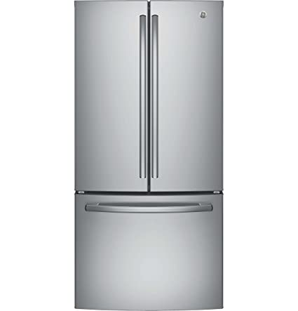 Superbe GE GWE19JSLSS 33u0026quot; Inch Counter Depth French Door Refrigerator With  18.6 Cu. Ft.