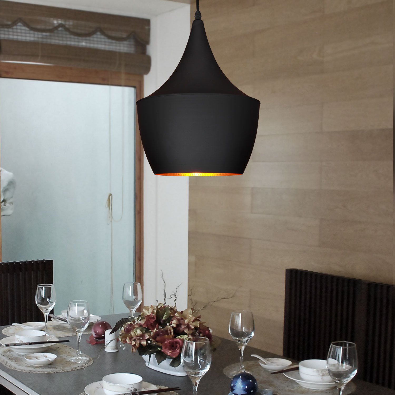 LightInTheBox Mini Style Pendant Light Retro Vintage Design Black Chandelier Painting Finish E26/E27 110-120V