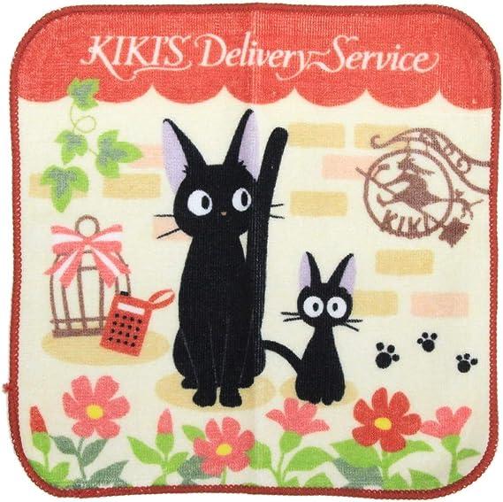 Marushin Cotton Hand Towel 20x20cm 100 Cotton Set Of 2 Towels Studio Ghibli Kiki S Delivery Service My Neighbor Totoro Amazon Co Uk Kitchen Home