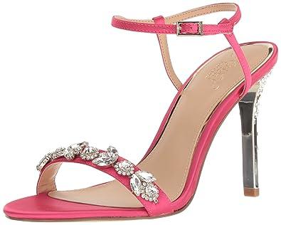 81065897e862 Amazon.com  Badgley Mischka Jewel Women s Tex Heeled Sandal  Shoes
