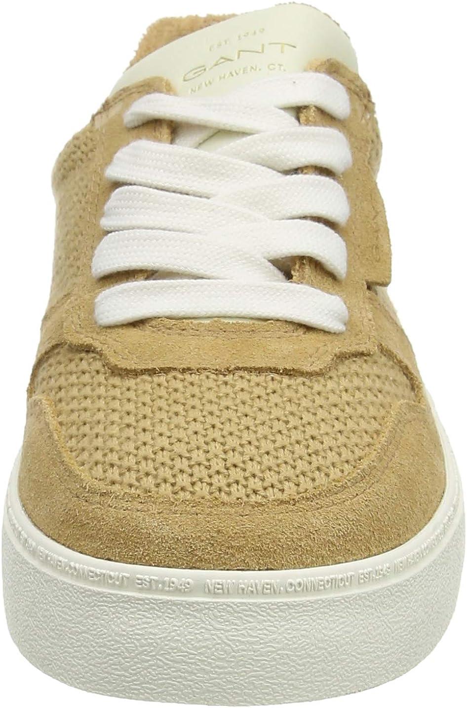 GANT Women's Low-Top Sneakers Beige Fudge Caramel G224