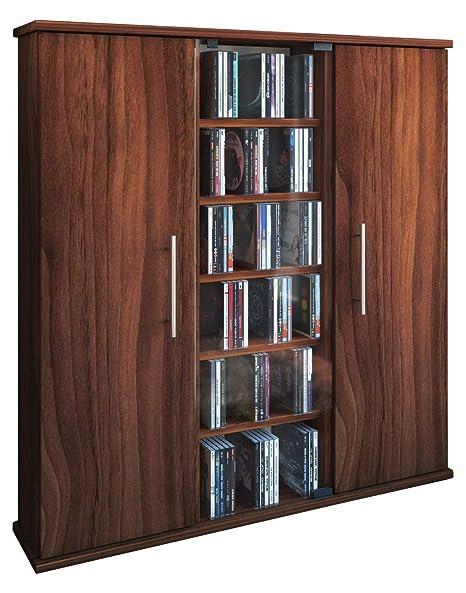 VCM Santo-Torre para CD/DVD, para 450 CDs, Color Vetas de