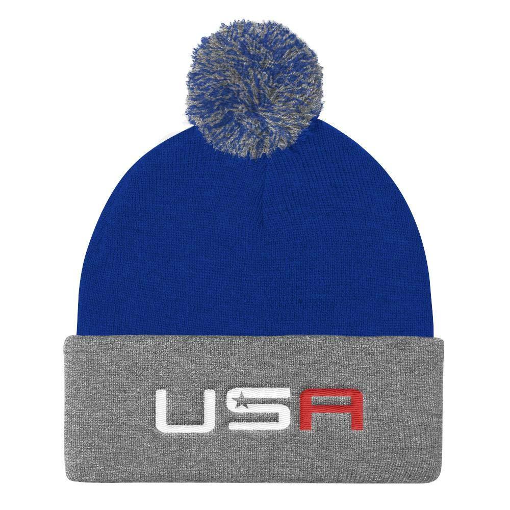 Amazon.com  Libertee Shirts USA Beanie Stocking Cap Team USA Ryder Cup Hat  Winter Team USA Hat  Sports   Outdoors 960ea673ef7