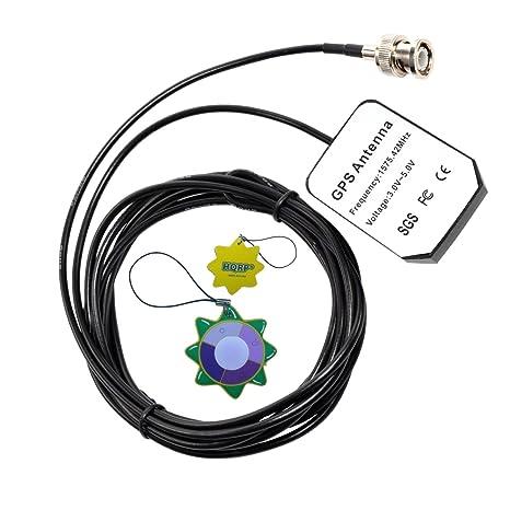 HQRP antena externa GPS para Garmin GPSMAP 545S / 546 / 546s / 550S / 555S