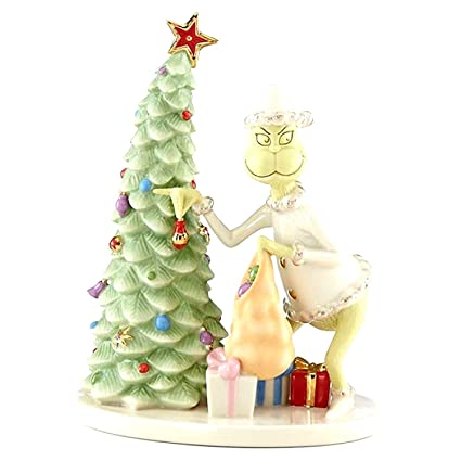 lenox grinch christmas crook figurine how grinch stole christmas dr seuss new grinch stealing xmas ornaments - Grinch Christmas Decorations Amazon