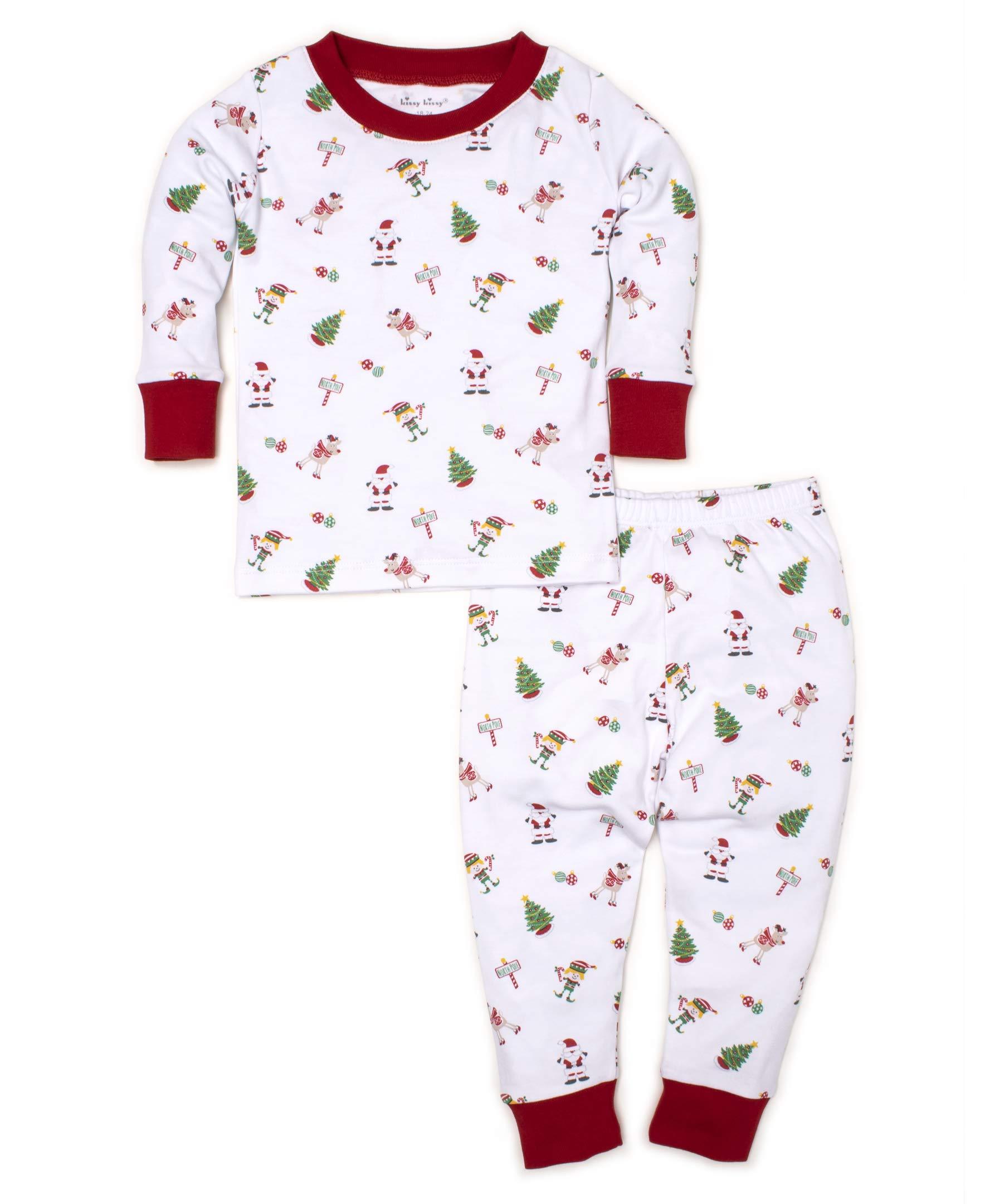 Kissy Kissy Unisex Baby Holidaze - Print Pajama Set - Snug Fit-6 by Kissy Kissy