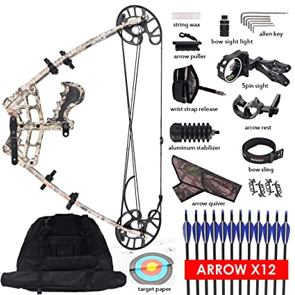 Amazon Com Xgeek Triangle Compound Bow For Adults Right Left