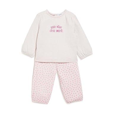 12a2716940b8d Bout Chou - Pyjama imprimé Fleuris - Mixte bébé - Taille   2 Ans ...