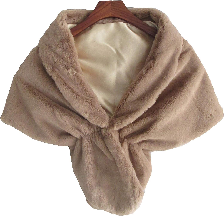 Skyfitting Women's Faux Fur...