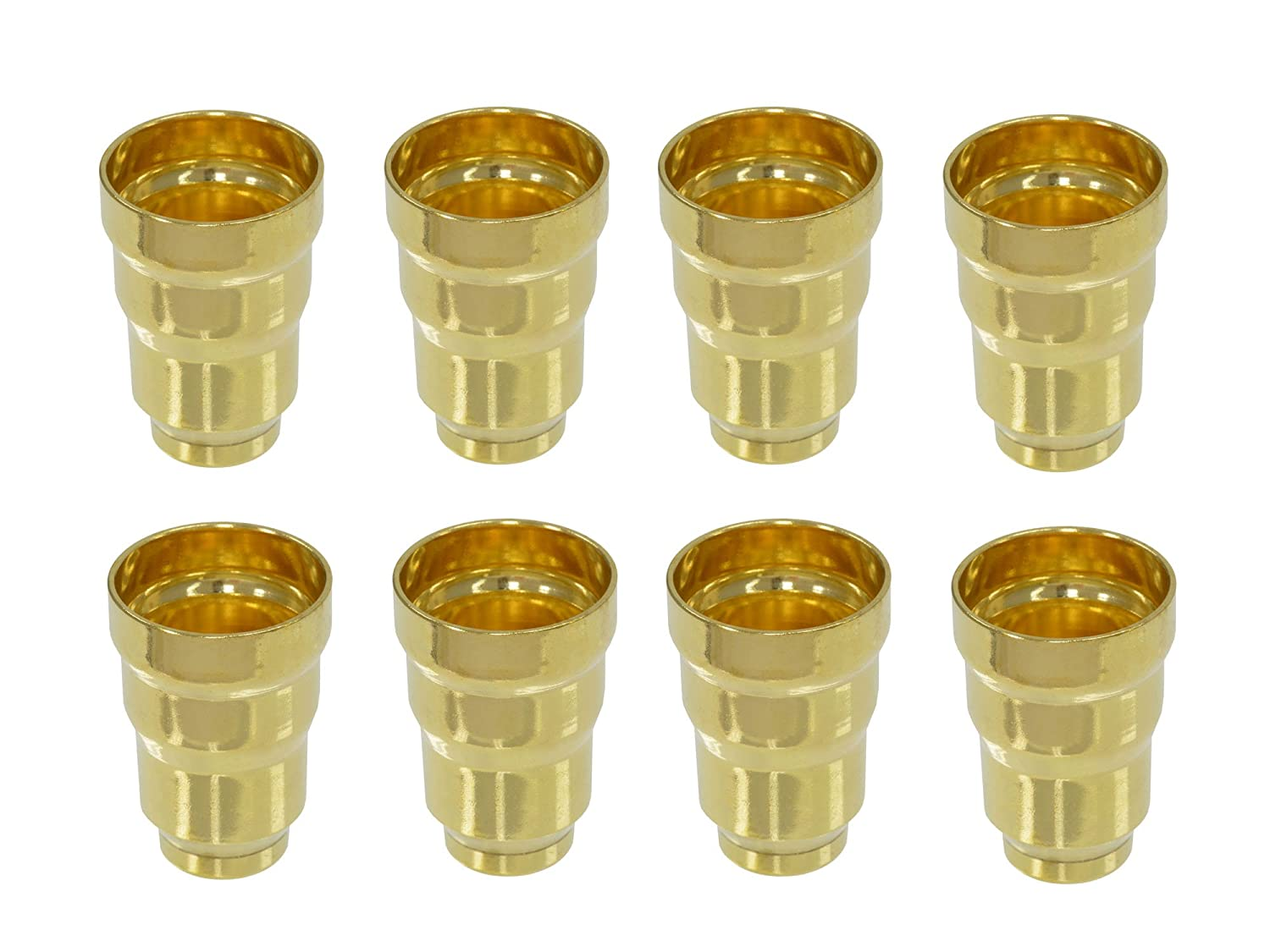 FUEL INJECTOR CUP//SLEEVE FULL SET OF 8 Fits 7.3L FORD POWERSTROKE