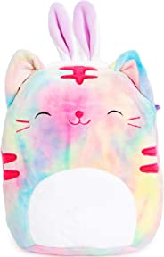 Squishmallows Easter 2020 Plush with Bunny Ears 9 inch (Rainbow Cat)