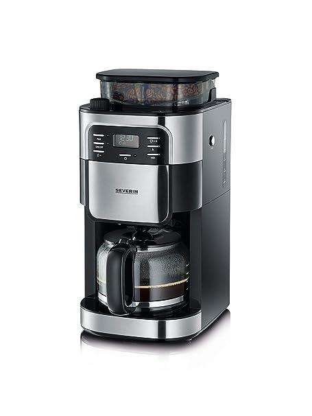 SEVERIN KA 4810 Cafetera automática con Molinillo para Café Molido ...