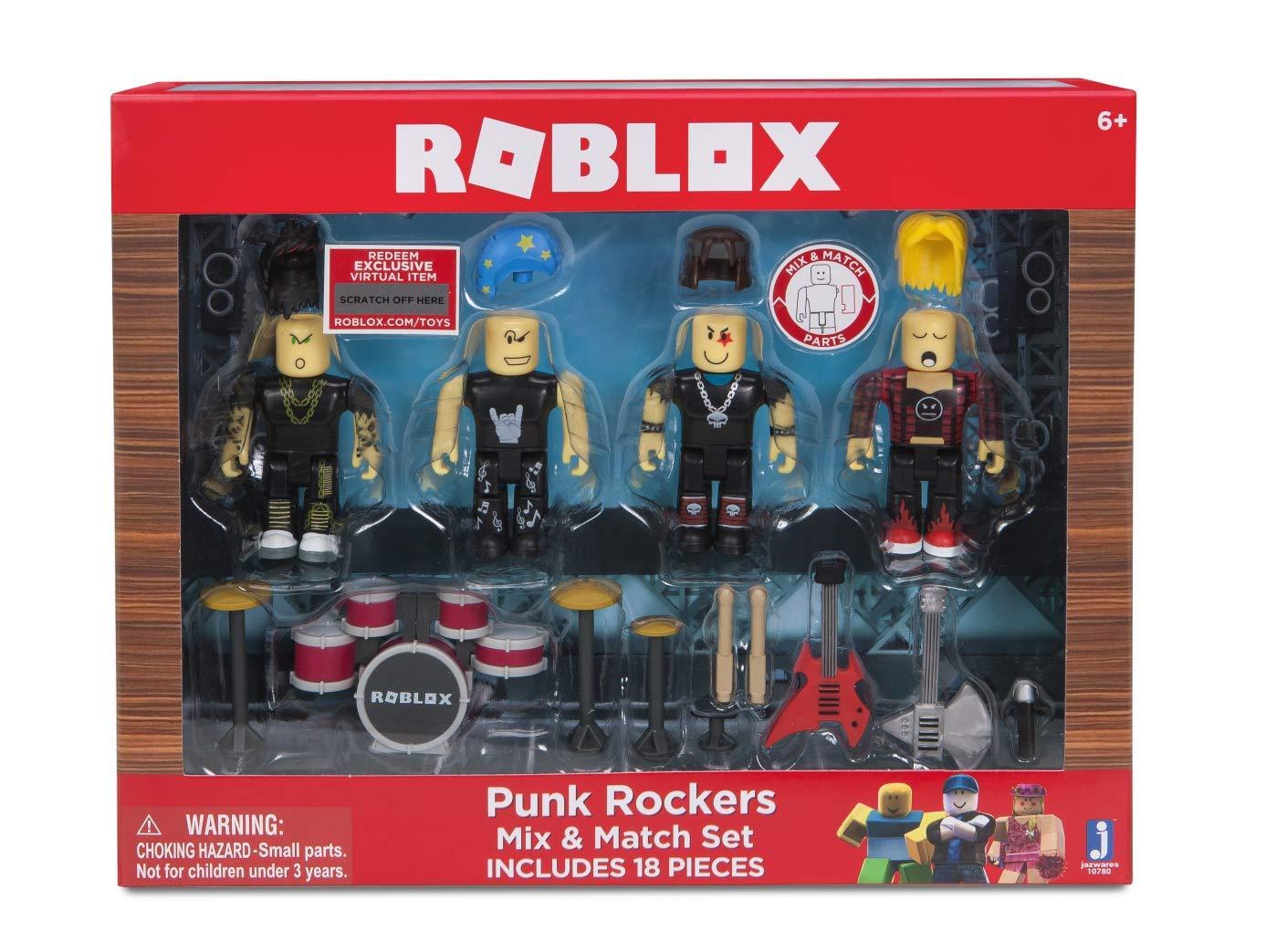 Roblox Punk Rockers Mix & Match Set
