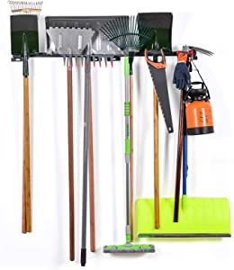 Tool Racks for Garage Walls- Wall Holders for Tools - Wall Mount Tool Organizer- Wall Mount Tools Home & Garage Storage System