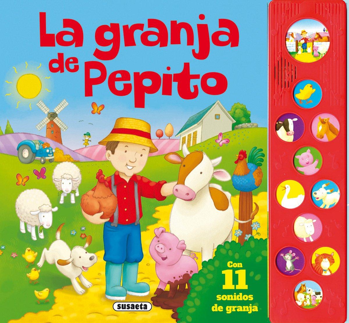 La granja de Pepito (Pulsa y canta): Amazon.es: Susaeta Ediciones S A: Libros