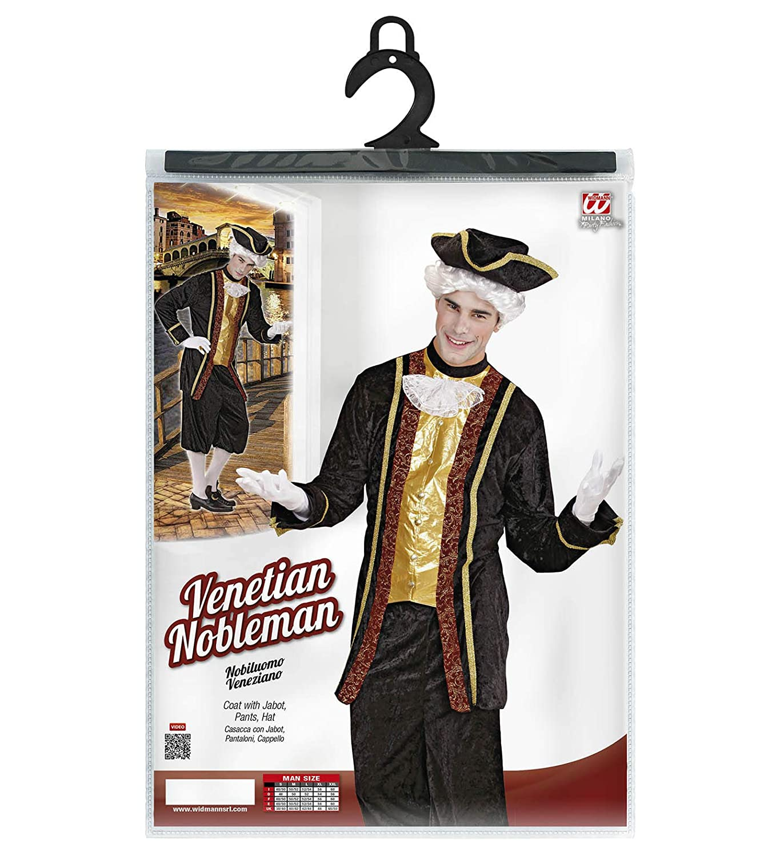 WIDMANN Widman - Disfraz de noble veneciano para hombre ...