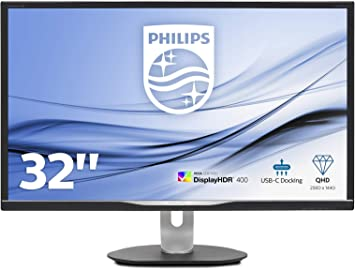 Monitor Philips 328P6VUBREB - Pantalla para PC de 32