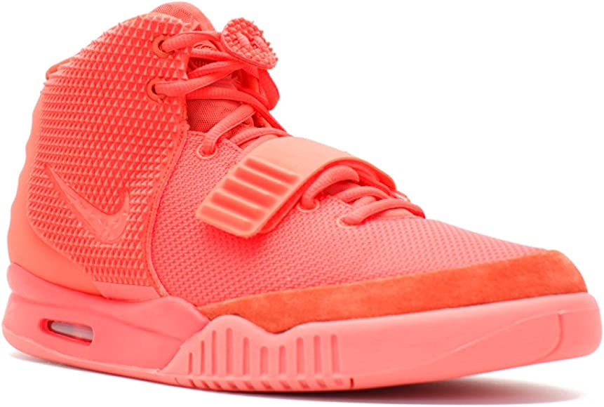 Nike AIR Yeezy 2 SP 'RED October' 508214 660 Size 8 UK