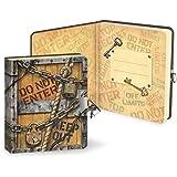 Peaceable Kingdom / Lock & Key Diary 'Top Secret'