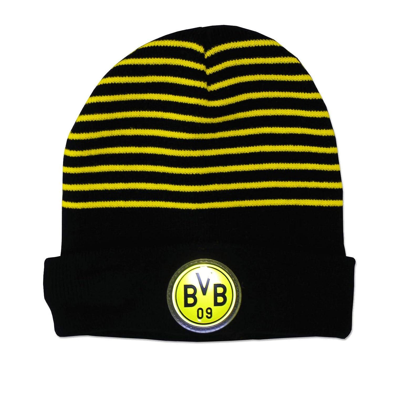 Borussia Dortmund BVB M/ütze//Kinderm/ütze ** LED M/ütze **