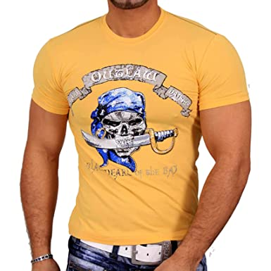 Rusty Neal Hombre Brillantes Manga Corta Camiseta de VIP Polo ...