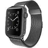 jwacct per Cinturino Apple Watch 42mm, Apple Watch Strap Band Sportiva di Sostituzione Maglia Milanese per iWatch Serie 3, Serie 2, Serie 1 Grigio siderale