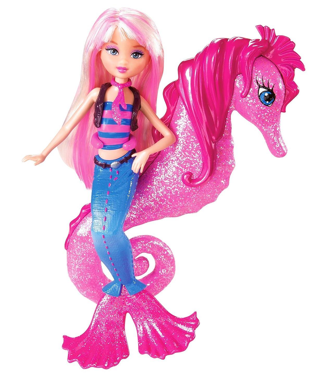 Uncategorized Barbie In A Mermaid Tale Dolls amazon com barbie in a mermaid tale seahorse stylist doll pink toys games