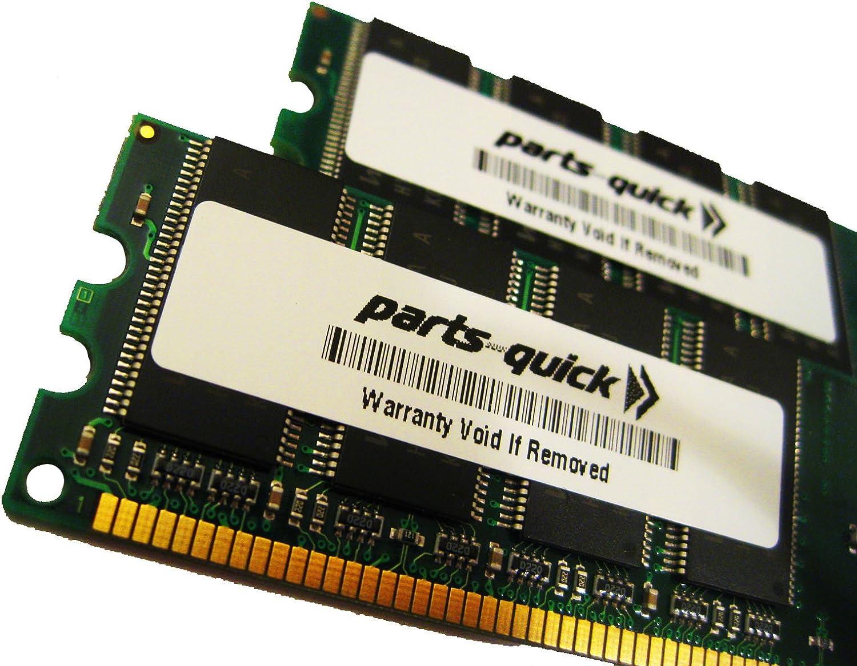 parts-quick 2GB KIT (1GB X 2) Memory Upgrade for Dell Latitude D610 DDR2 PC2-5300 200 pin 667MHz SO-DIMM Non-ECC Brand